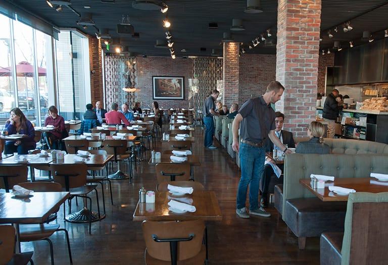 Private Dining Room At North Italia In Denver